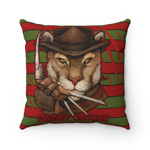 Accessory | Freddy Cougar | Square Pillow