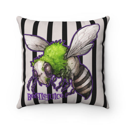 Accessory | Beetlejuice | Square Pillow
