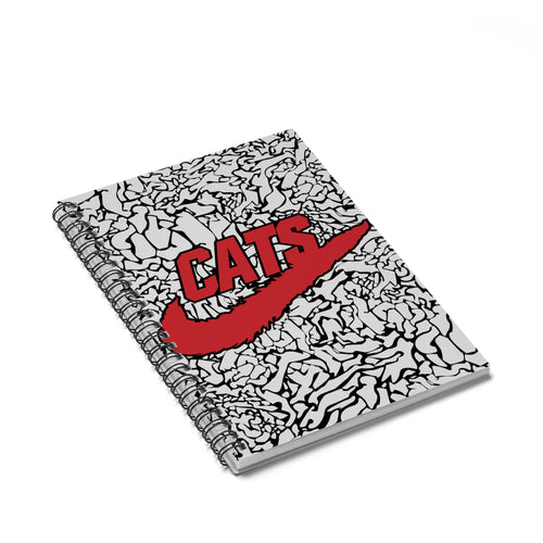 Accessory | Just CATS It | Spiral Notebook - Ruled Line