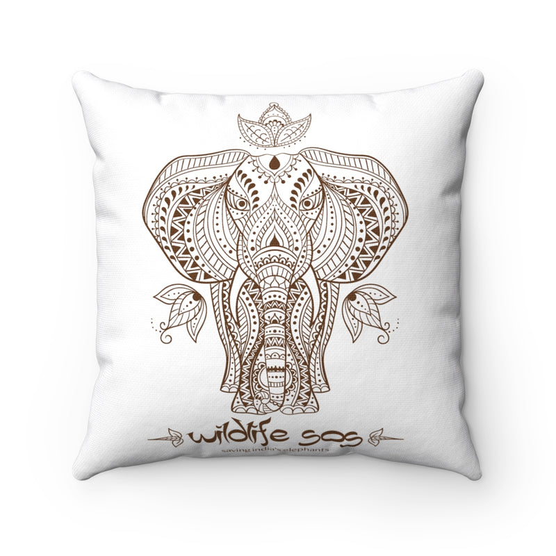 Accessory | WLSOS Henna Elephant | Square Pillow