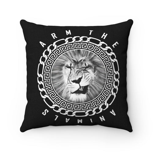 Home Goods | King Of The Jungle | Square Pillow