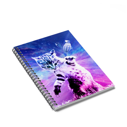 Accessory | Catastrophe 2.0 | Spiral Notebook - Ruled Line