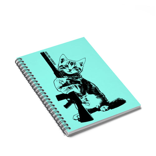 Accessory | Ain't Kitten Around | Spiral Notebook - Ruled Line