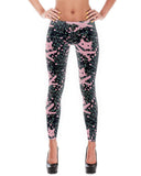 Women's | Floral 9 Lives  | Leggings