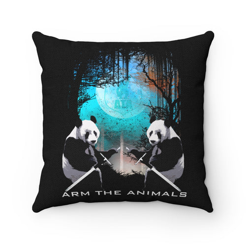 Home Goods | Forest Guardian Pandas | Square Pillow