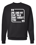 Men's | Sh*t Talkers (Cat) | Crewneck Sweatshirt