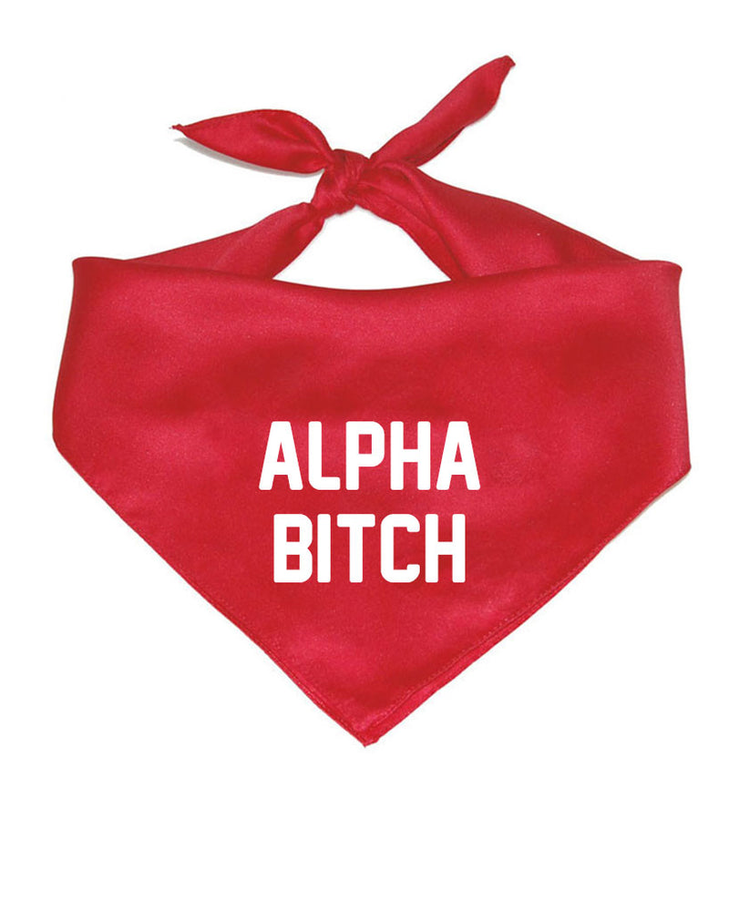 Accessory | Alpha Bitch | Pet Bandana