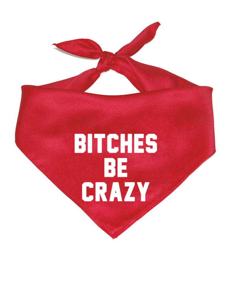 Accessory | Bitches Be Crazy | Pet Bandana