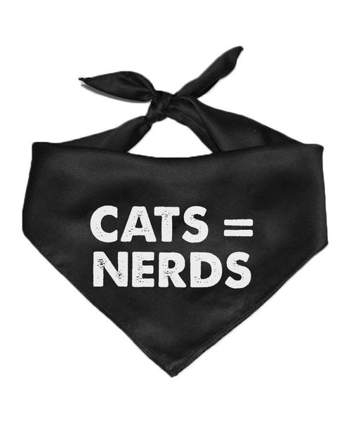 Pet | Cats = Nerds | Bandana