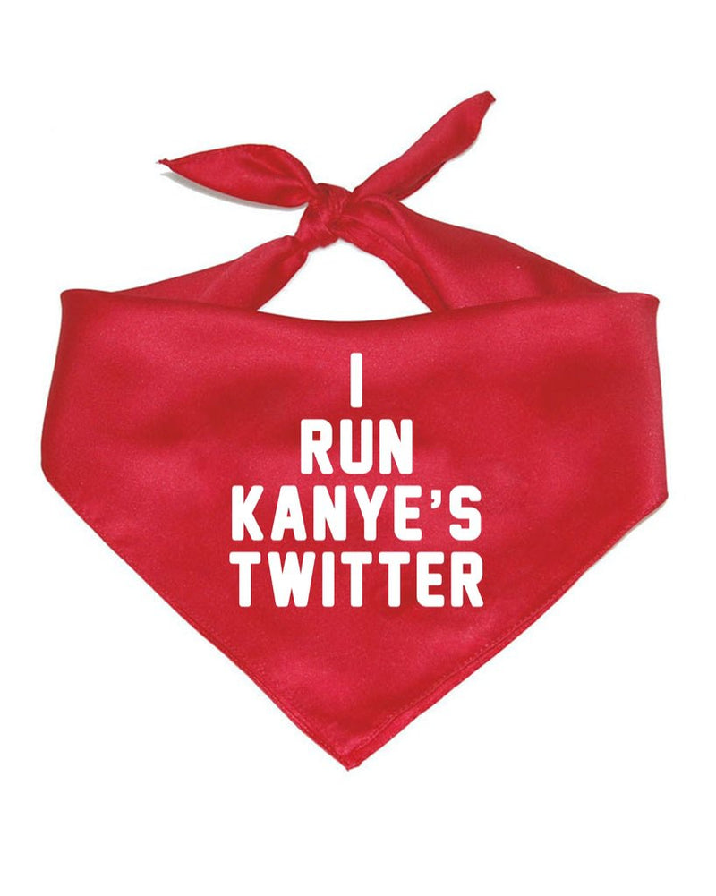 Accessory | I Run Kanye's Twitter | Pet Bandana