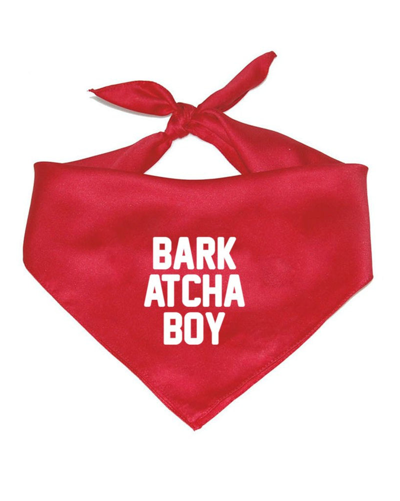 Pet | Bark Atcha Boy | Bandana
