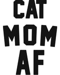 Women's | Cat Mom AF | Ideal Tank Top