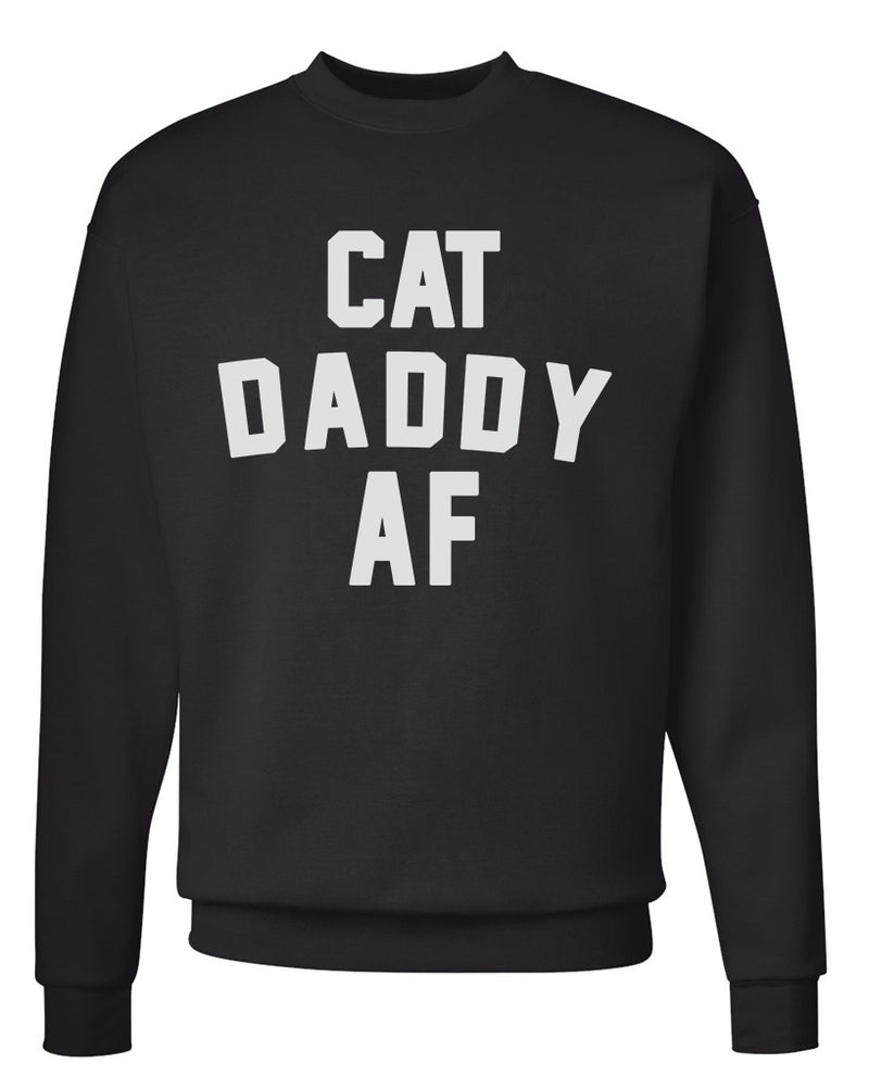 Men's | Cat Daddy AF | Crewneck Sweatshirt