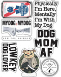 Stickers | Dog Lovers | Die Cut Sticker Set (12)