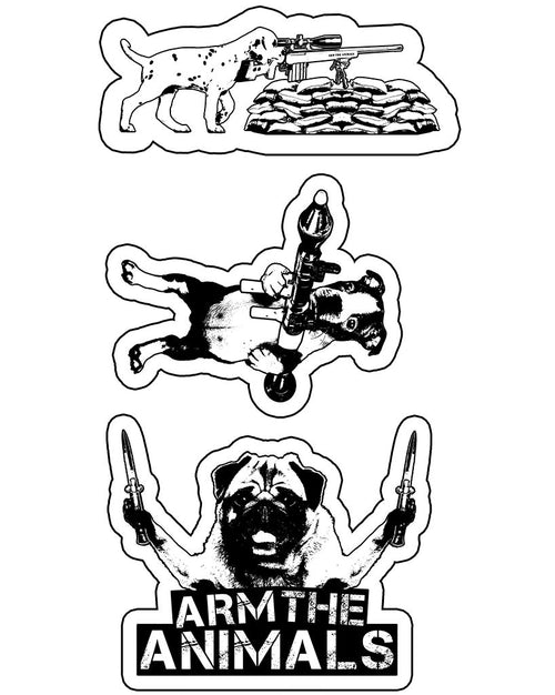 Stickers | Dogs of War | Die Cut Sticker Set (3)