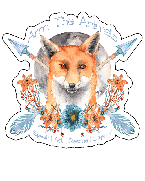 Stickers | Fox Confessor | Die Cut Sticker