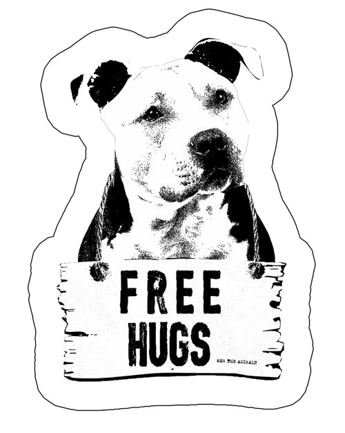 Stickers | Free Hugs | Die Cut Sticker