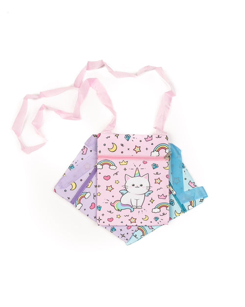 $10 & Under | Unicorn Cat | Messenger Bag