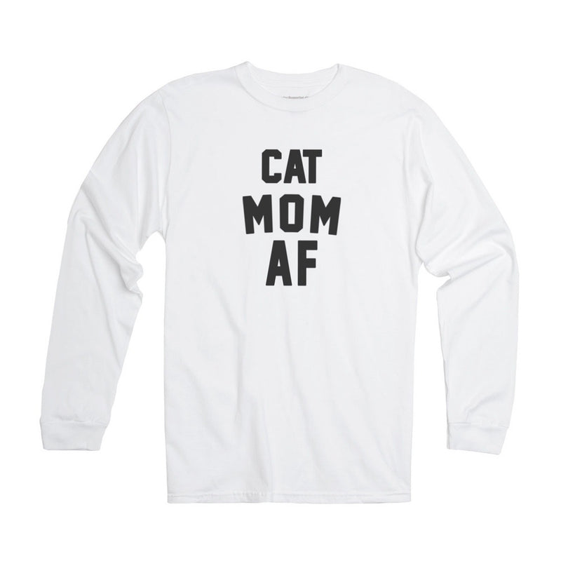 Women's | Cat Mom AF | Jersey Long Sleeve