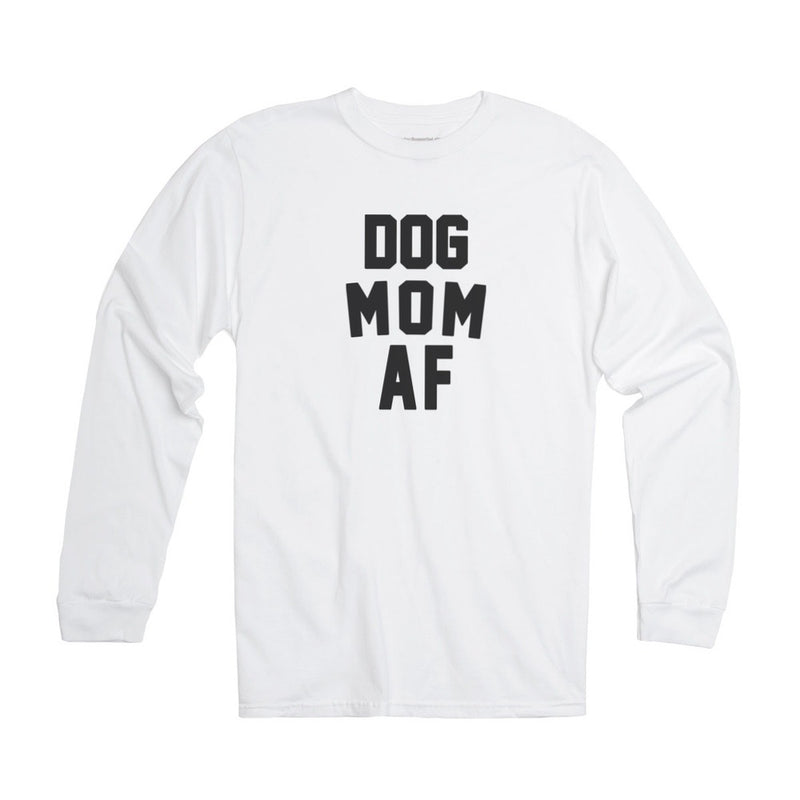 Women's | Dog Mom AF | Jersey Long Sleeve