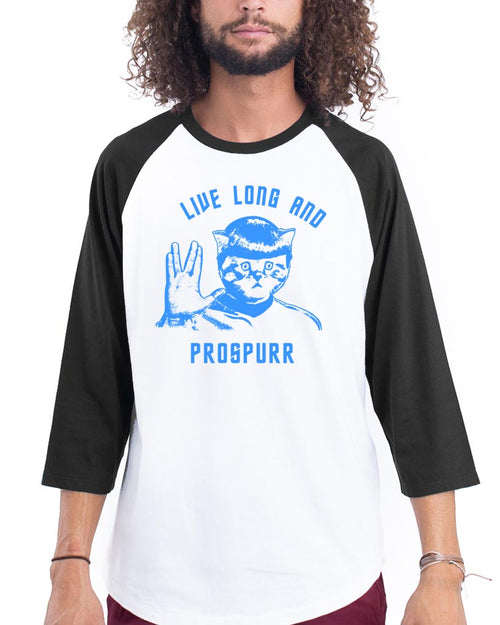Men's | Live Long and Prospurr | 3/4 Sleeve Raglan