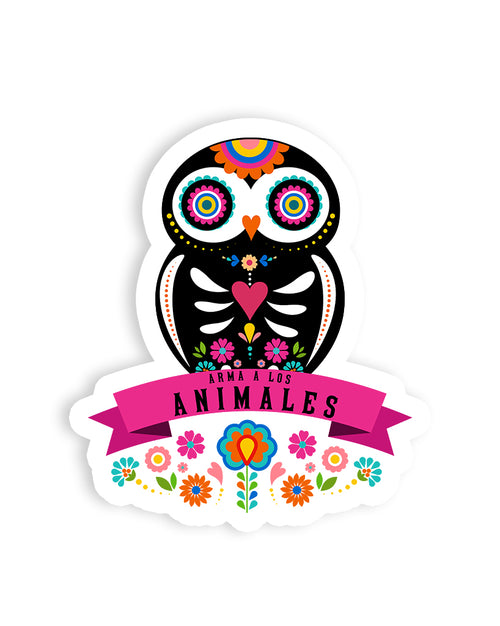 Stickers | Owl Alebrije | Die Cut Sticker