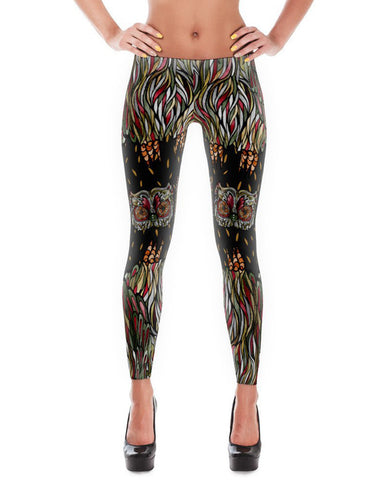 Women's | Rev-OWL-Ver Eyes | Leggings