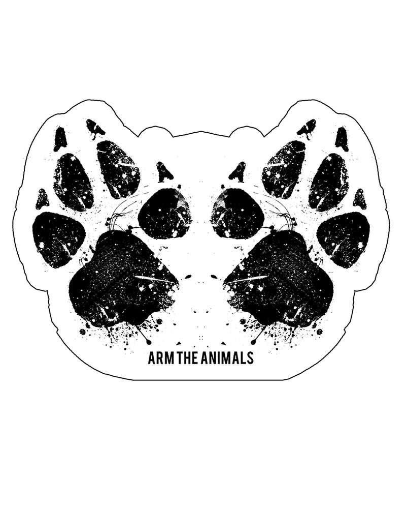Stickers | Paw-Sive Aggressive | Die Cut Sticker