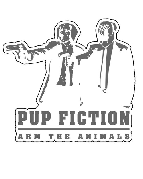 Stickers | Pup Fiction | Die Cut Sticker