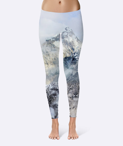Women's | White Camo | Leggings