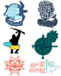 Stickers | Sea Life Lovers | Die Cut Sticker Set (11)