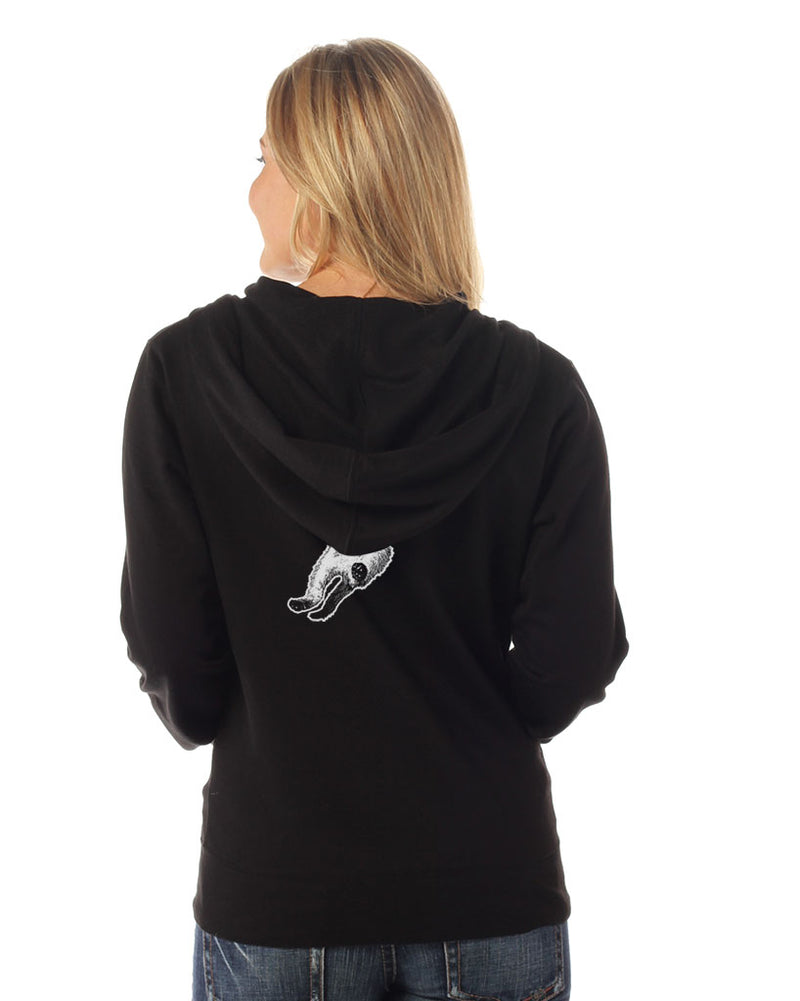 Women's | The Cat and The Gat | Zip Hoodie