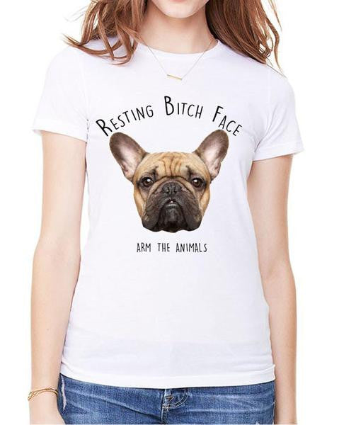 Women's | Resting Bitch Face | Oversized Tee