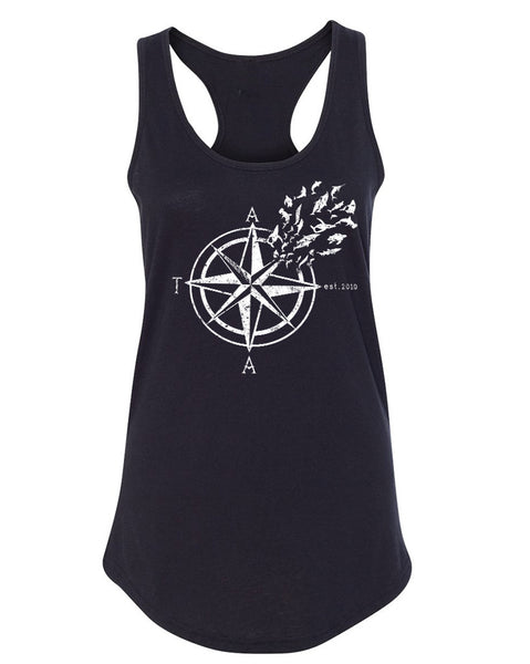 Women's | Nautical Compass | Ideal Tank Top
