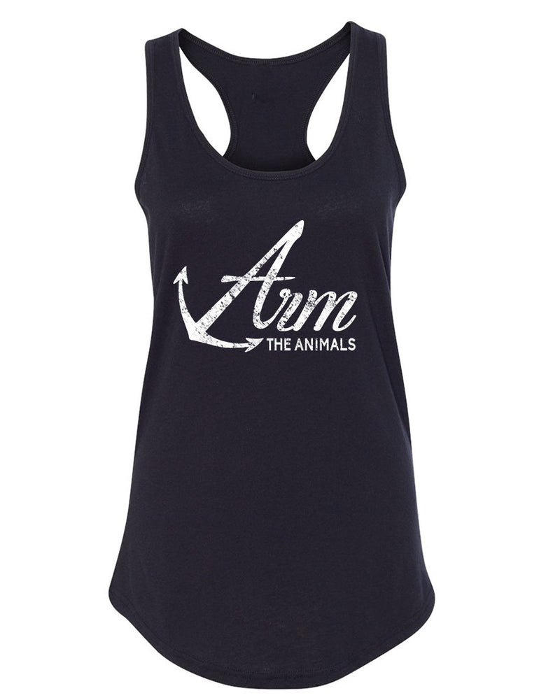 Women's | Armed Anchor | Ideal Tank Top