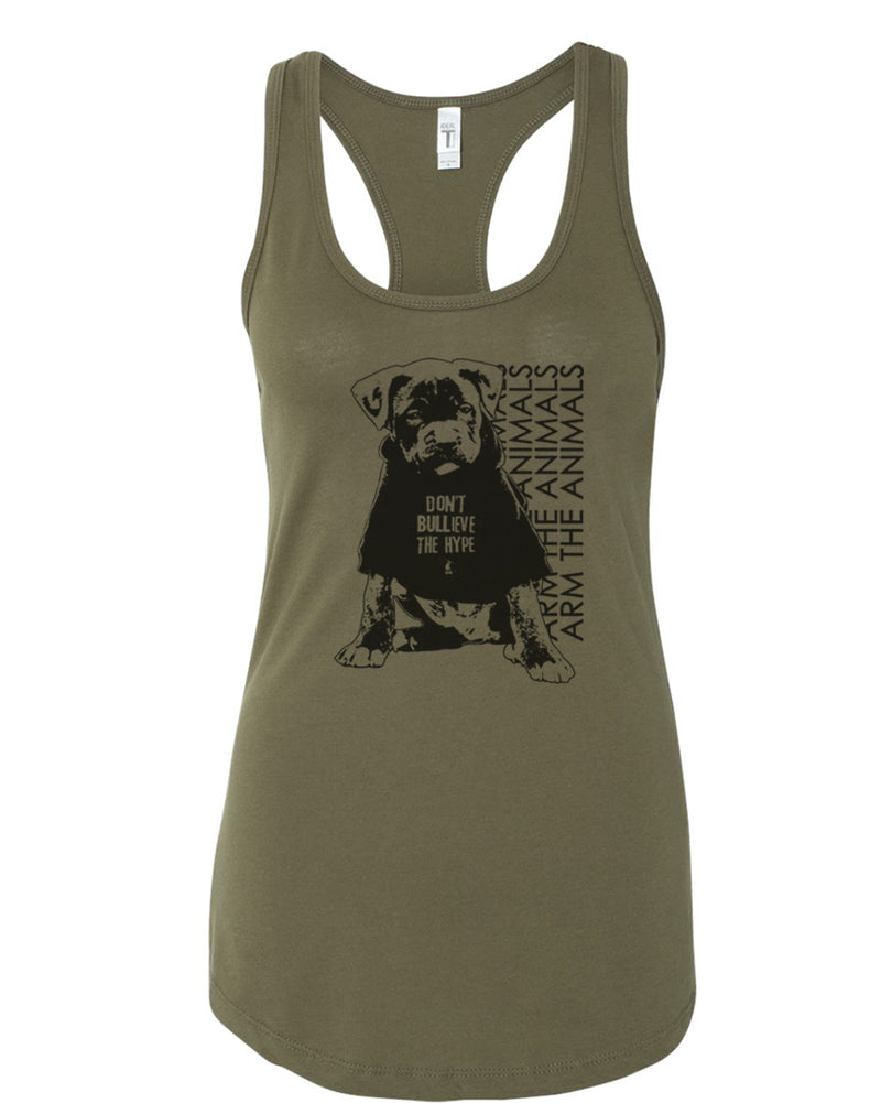 Women's | Don't BULLieve The Hype | Ideal Tank Top