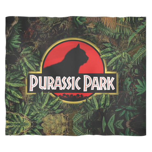 ACCESSORY | PURASSIC PARK | FLEECE BLANKET