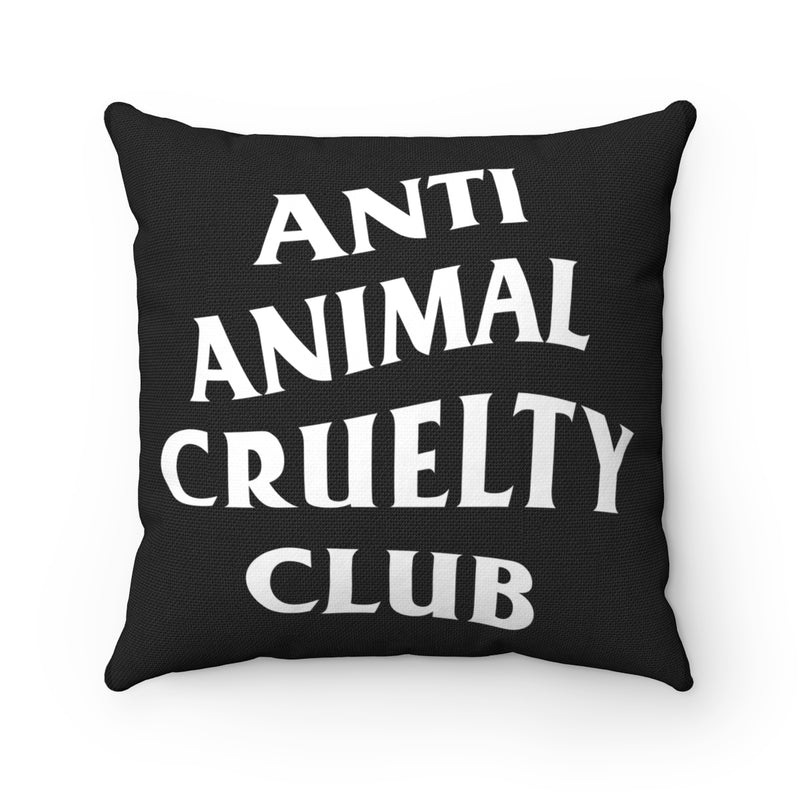 Accessory | Anti Animal Cruelty Club | Square Pillow