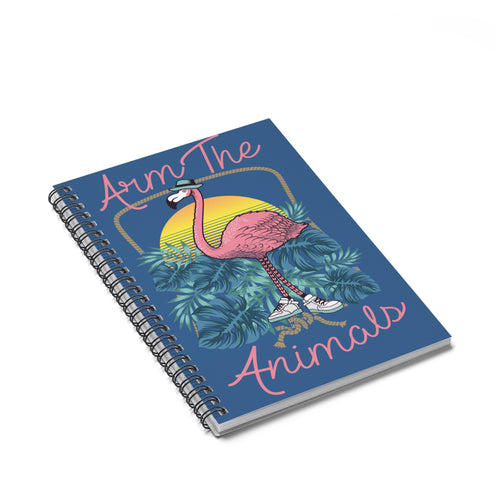 Accessory | Don Flamingo | Spiral Notebook - Ruled Line