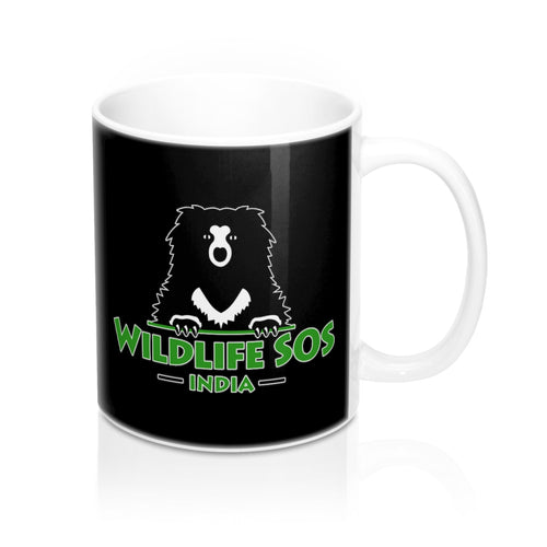 Accessory | Wildlife SOS Bear Logo | Coffee Mug