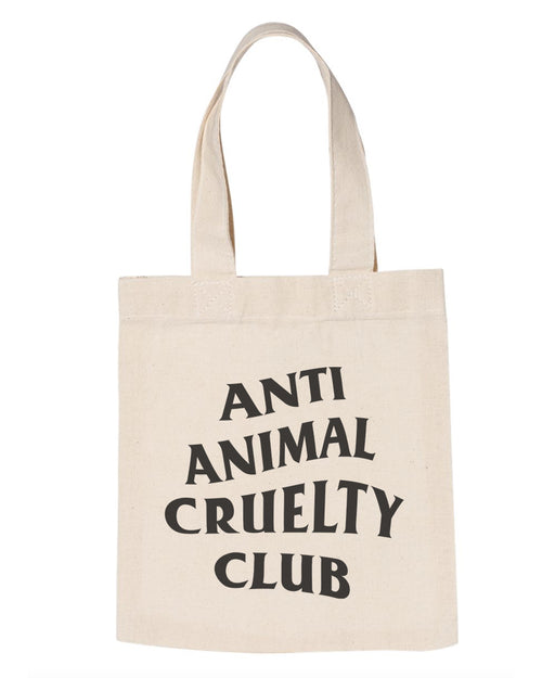 Accessories | Anti Animal Cruelty Club | Tote Bag
