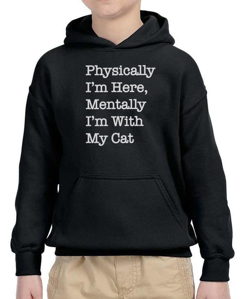 Youth Boys | With My Cat | Hoodie