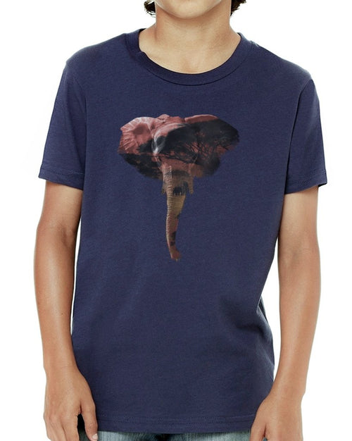 Youth Boys | African Elephant | Tee