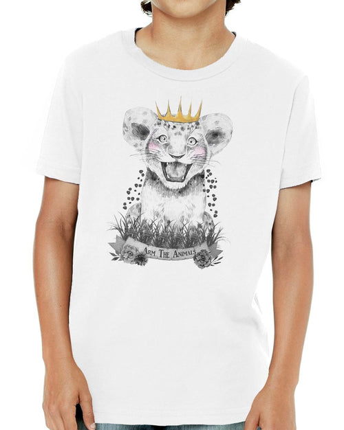 Youth Boys | Baby Lion | Tee