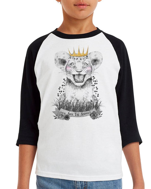 Youth Boys | Baby Lion | Raglan