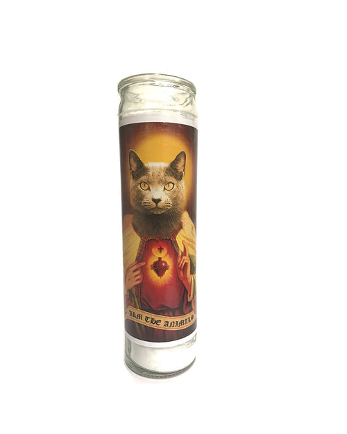 Home Goods | Holy Russian Blue | Devotional Candle