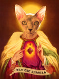 Home Goods | Holy Sphynx | Devotional Candle