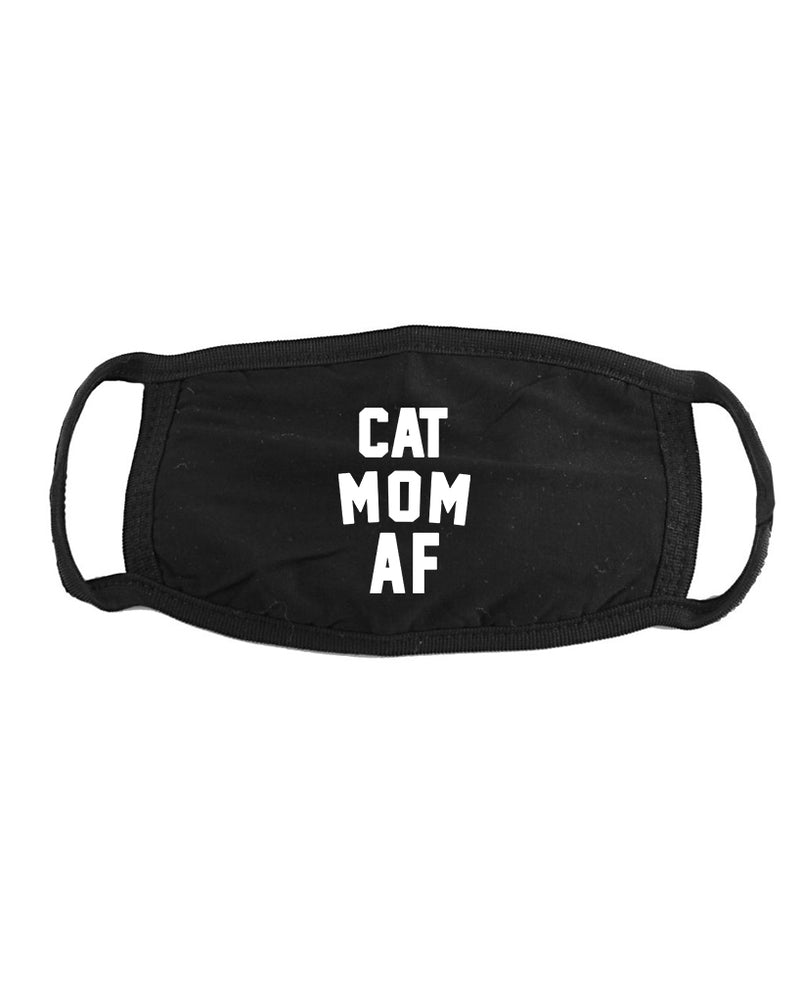 Accessory | Cat Mom AF | Face Covering