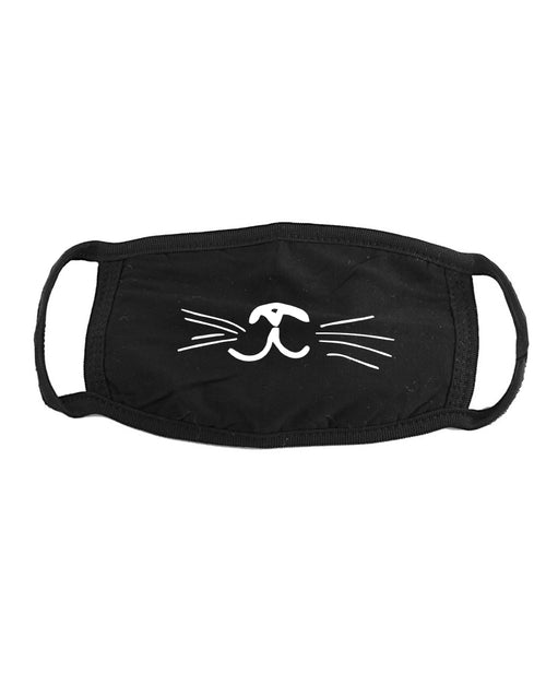 Accessory | Squiggly Cat Mouth | Face Covering