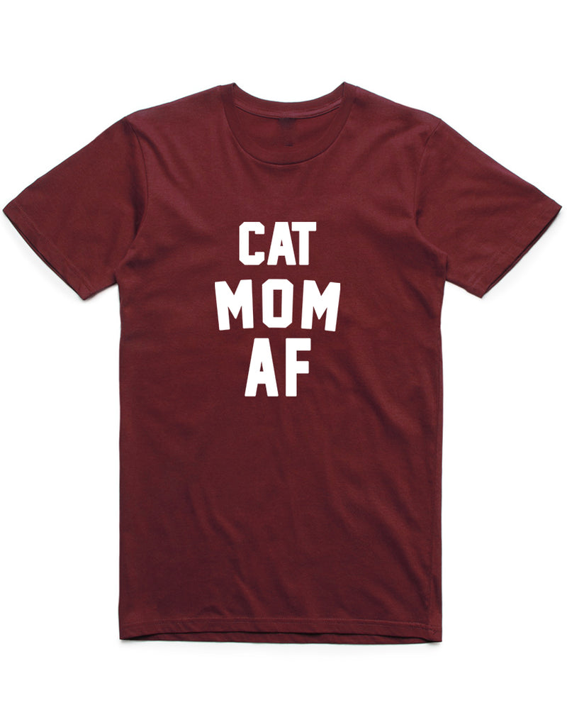 Women's | Cat Mom AF | Oversized Tee